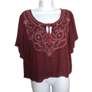 Abercrombie&Fitch Small Embroidered Shirt